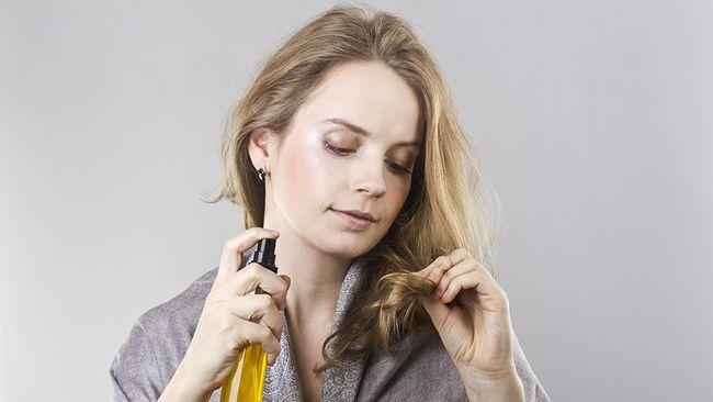 догляд за сухим волоссям